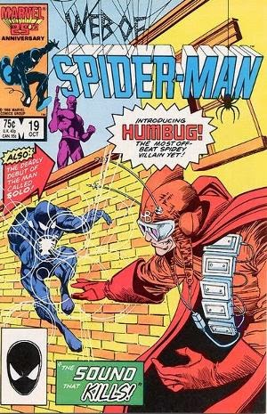 Web of Spider-Man #19 comic cover