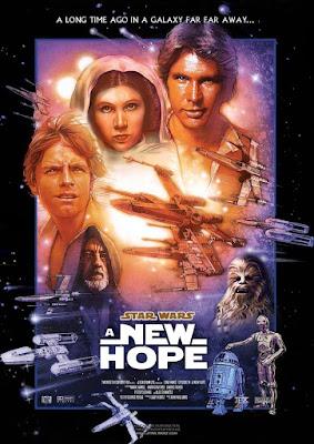 gwiezdne wojny nowa nadzieja film recenzja plakat george lucas