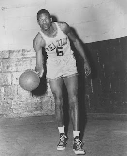 Bill Russell in his early playing days