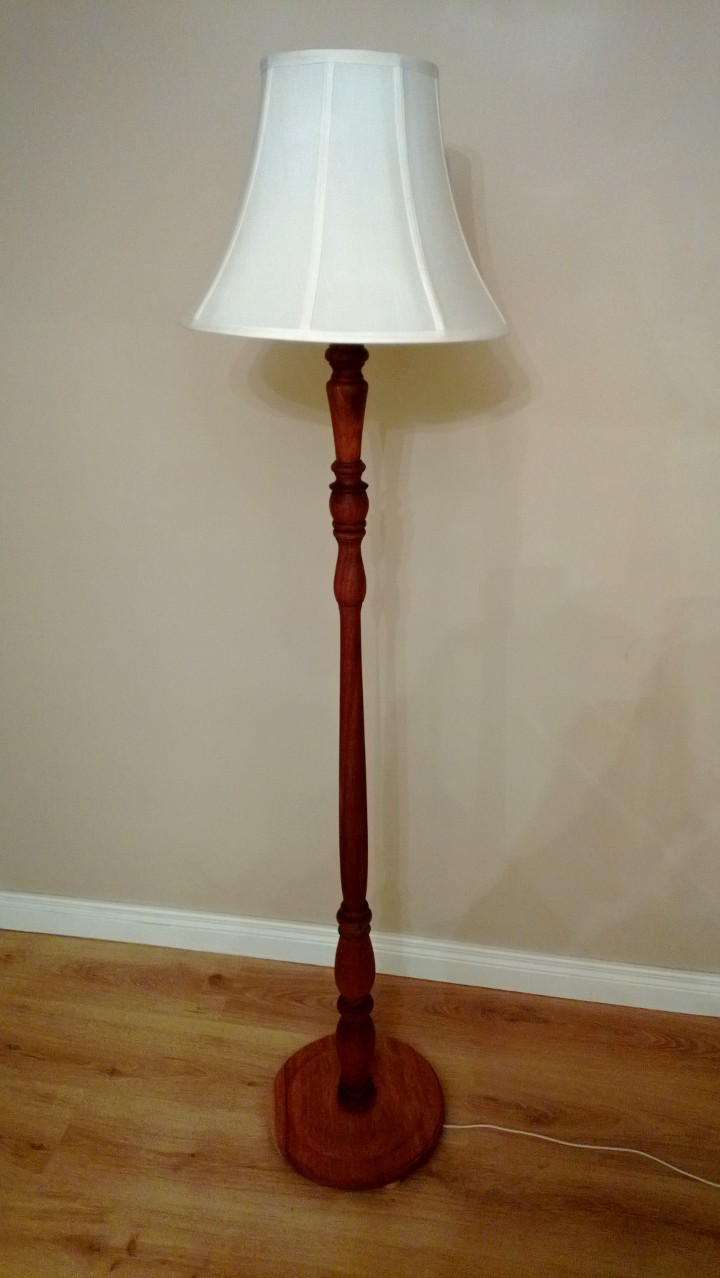 Learning To Craft And Upcycle Upcycled Floor Lamp