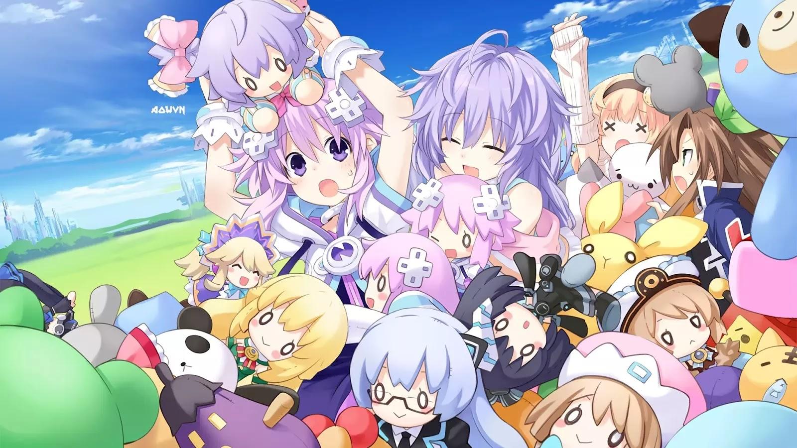 AowVN.org min%2B%252840%2529 - [ Hình Nền ] Game Hyperdimension Neptunia cực đẹp | Anime Wallpapers
