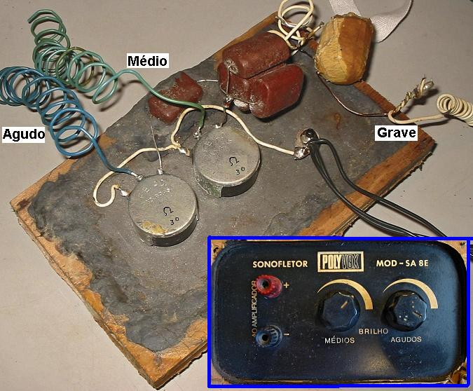 Esquemas e Memórias: Sonofletor PolyVox SA8G