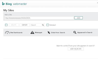 Cara Mendaftarkan Blog ke Bing Webmaster Terbaru 2018