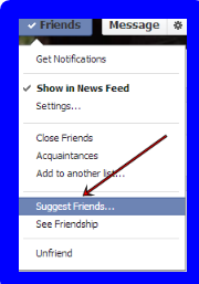 How to Suggest Friends on Facebook in One Click