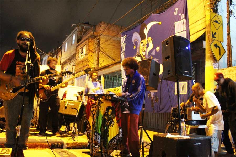 Show de 9 anos de Indaíz, no Jardim Rincão/Jaraguá. Foto: acervo Indaíz