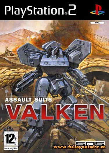 Assault Suits Valken (PAL) Playstation 2 Tek Link