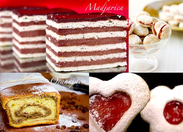 croatian snacks and desserts for the christmas holiday table