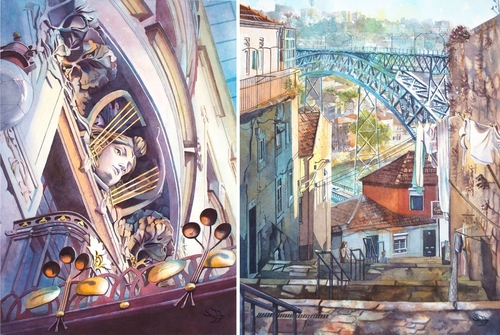 00-Viktoria-Kravchenko-Architecture-Student-Paints-City-Scenes-Watercolors-www-designstack-co