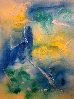 watercolor, art+blog