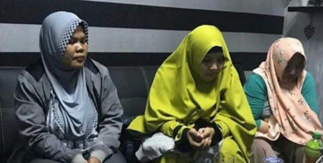 Jadi Tersangka, Tiga Emak-Emak di Karawang Langsung Ditahan