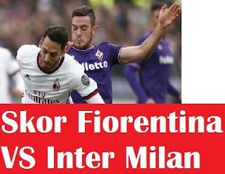 √ Hasil pertandingan Skor Fiorentina VS Inter Milan Pada 25 Februari 2020 2