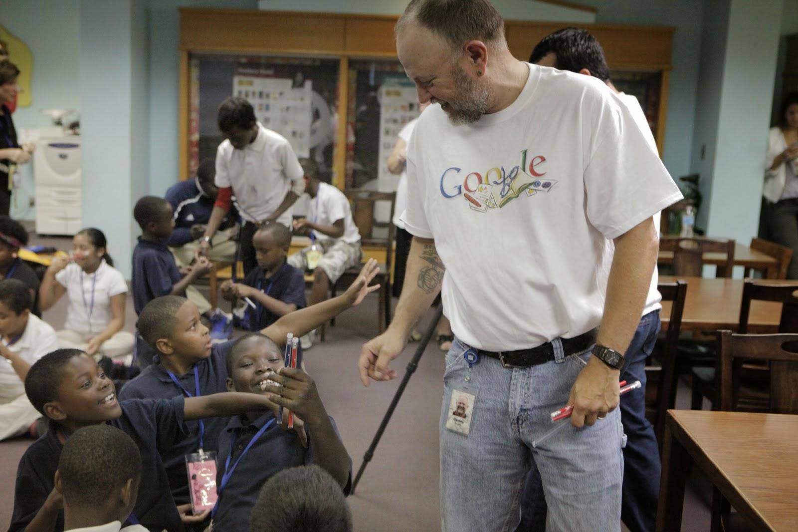 جوجل تحب التبرعات والأعمال الخيرية
