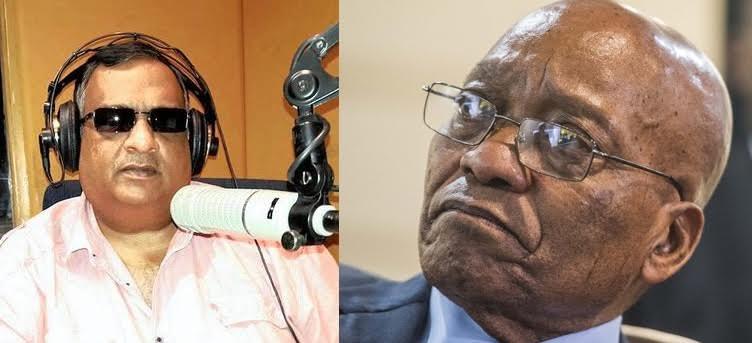 Zombie, South Africa, News, President Zuma, Journalist,