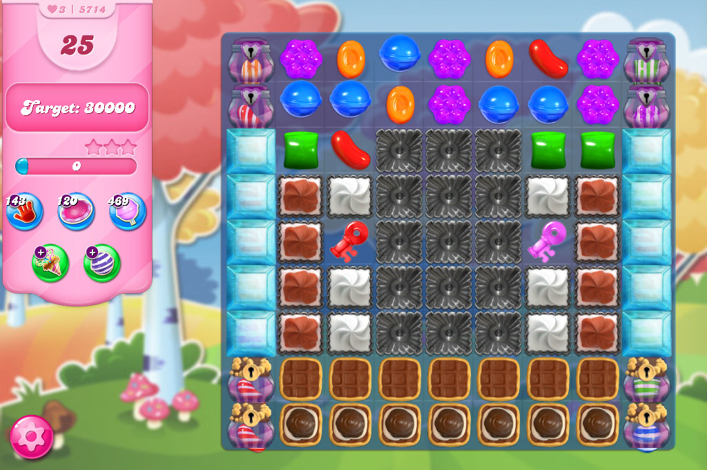Candy Crush Saga level 5714