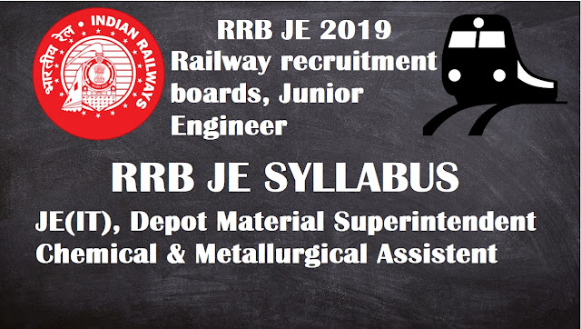 Railway Recruitment Boards, Junior Engineer