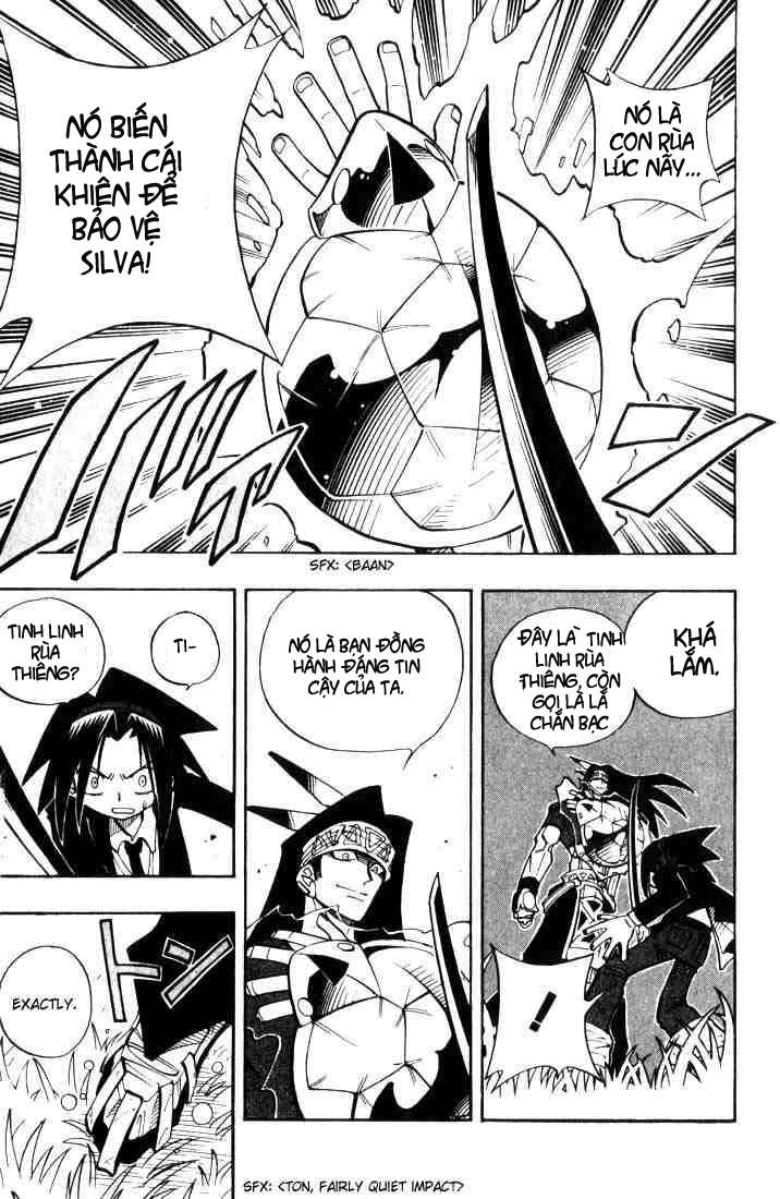 Shaman King [Vua pháp thuật] chap 28 trang 11