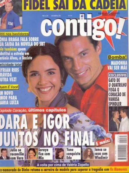 """22 anos depois, capa da """"Contigo!"""" mostra como imprensa inventa finais de novela"""