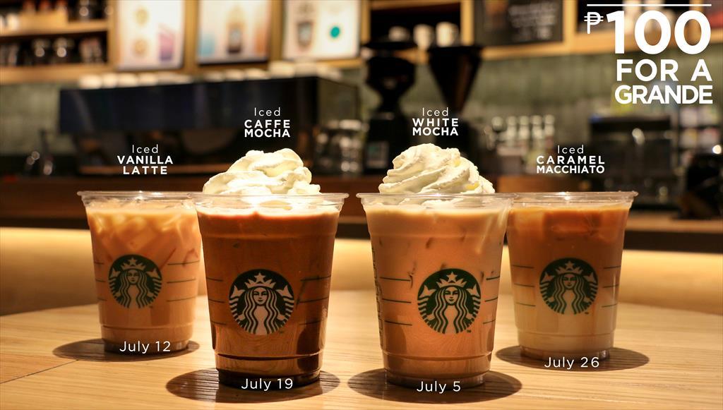 Starbucks Drinks Prices Philippines