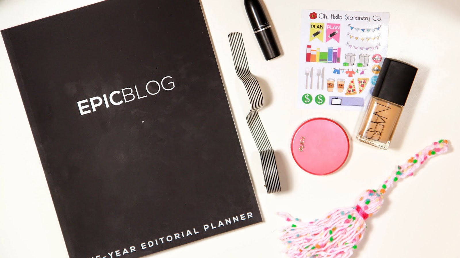 Epic Blog: One-Year Editorial Planner Review