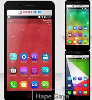 Digicoop, Handphone Buatan Anak Bangsa