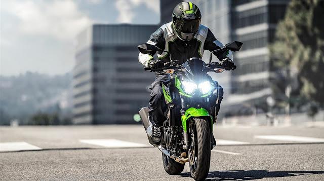 Kawasaki Z250 2019 sudut terkeren