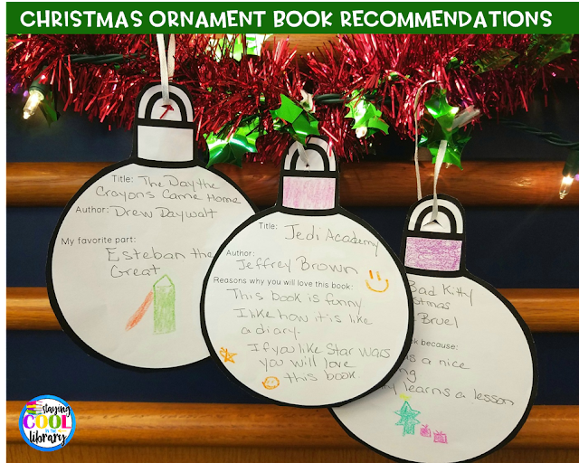 Christmas ornament book recommendation form example