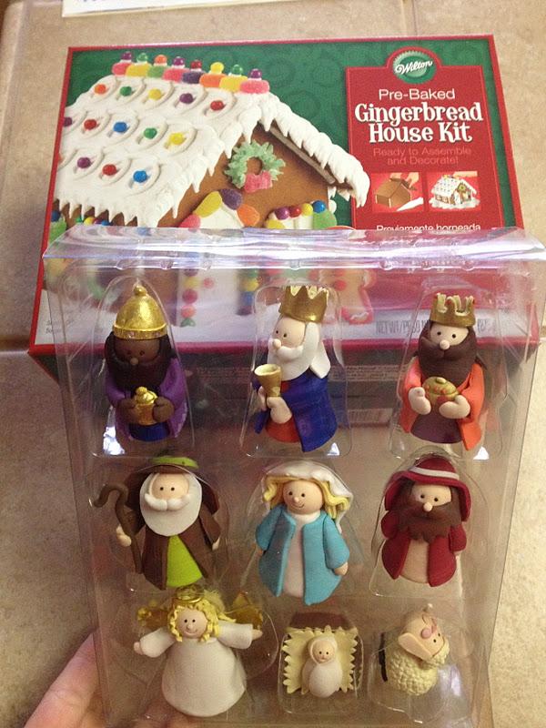 Catholic Cuisine Happy Birthday Jesus Cupcakes A Gingerbread Manger