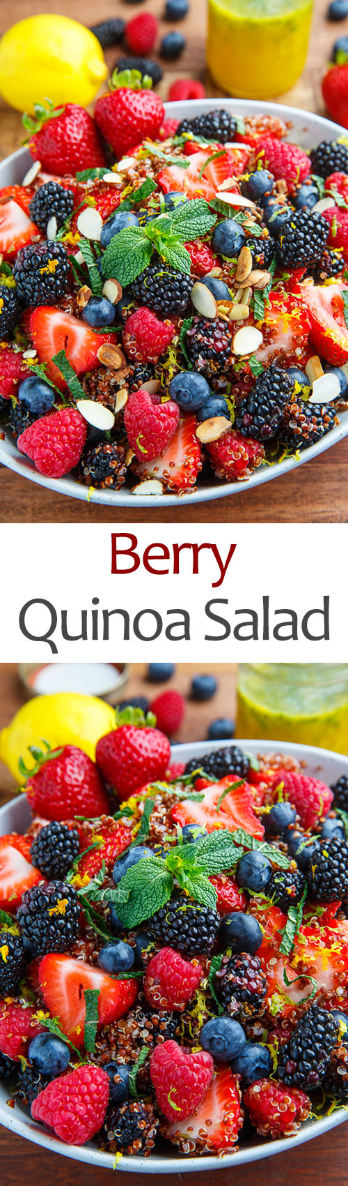 Berry Quinoa Salad