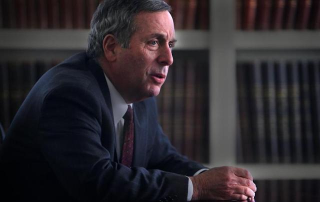 Harvard President promises a more outward-looking Harvard