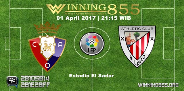 Prediksi Skor Osasuna vs Athletic Bilbao 01 April 2017