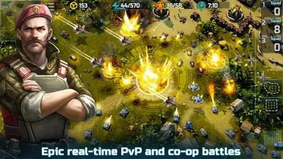 Art Of War 3: Modern PvP RTS Apk Free on Android Game Download