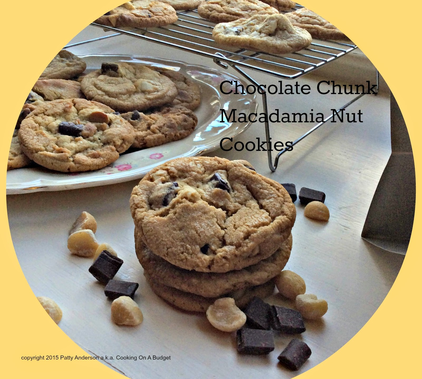 Chocolate Coconut Patties Dunmore Candy Kitchen: Cooking On A Budget: Chocolate Chunk Macadamia Nut Cookies