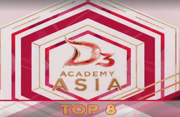 nilai DA Asia 3 Top 8 Grup 2 Tadi Malam 10 Desember 2017