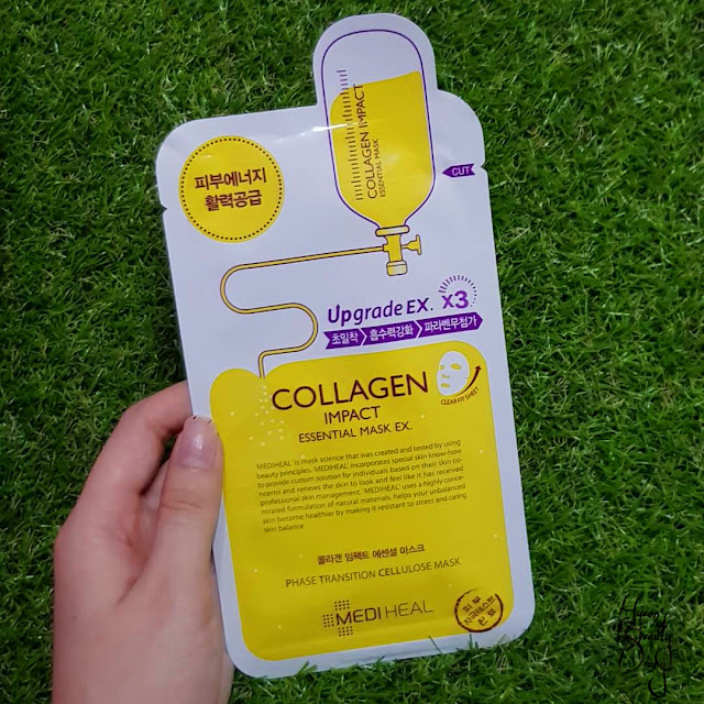 Review; Mediheal's Collagen Impact Essential Mask Ex.