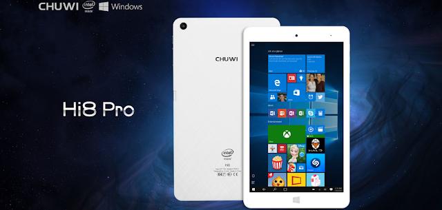 تقرير كامل عن تابلت Chuwi Hi8 Pro بنظامي تشغيل أندرويد 5.1 + ويندوز 10