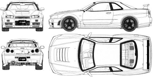 #World of Small Car / Dunia Kereta Kecil #: Nissan Skyline