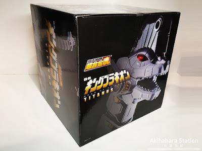 "Figuras: Review del Soul Of Chogokin GX-85 Titanus de ""Mighty Morphin Power Rangers"" - Tamashii Nations"