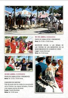 Feria de Primavera y Fiesta del Vino Fino de El Puerto de Santa María 2016 - Programa 03