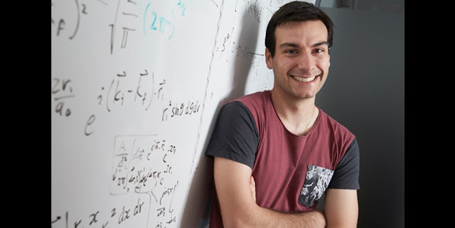 Mark Zammit, of Los Alamos' Physics and Chemistry of Materials group, is part of a team that developed a theoretical model to forecast the fundamental chemical reactions involving molecular hydrogen. Photo credit Curtin University.