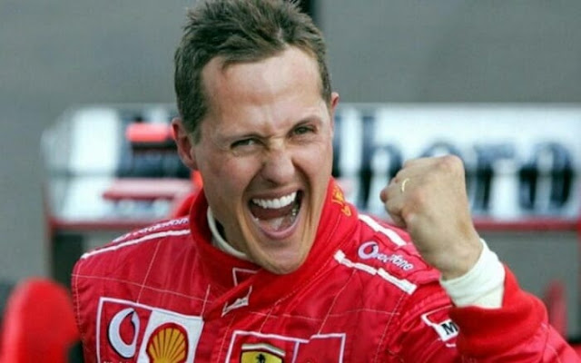 Michael Schumacher sai do coma