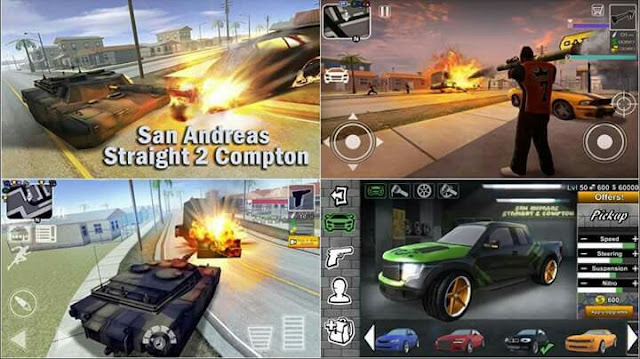 San Andreas Straight 2 Compton Latest Version Apk+Mod Apk