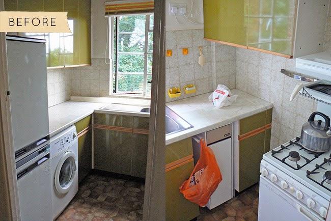 Marzua antes y despu s una peque a cocina londinense - Quiero construir una casa ...