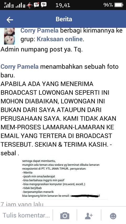 Lowongan Kerja Di Probolinggo Lokercoid Situs Lowongan Kerja Online Indonesia Kraksaan Online Bisa Memberikan Manfaat Mohon Klik Salah Satu Iklan Di