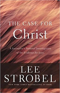 The front cover of the book 'the case for Christ'