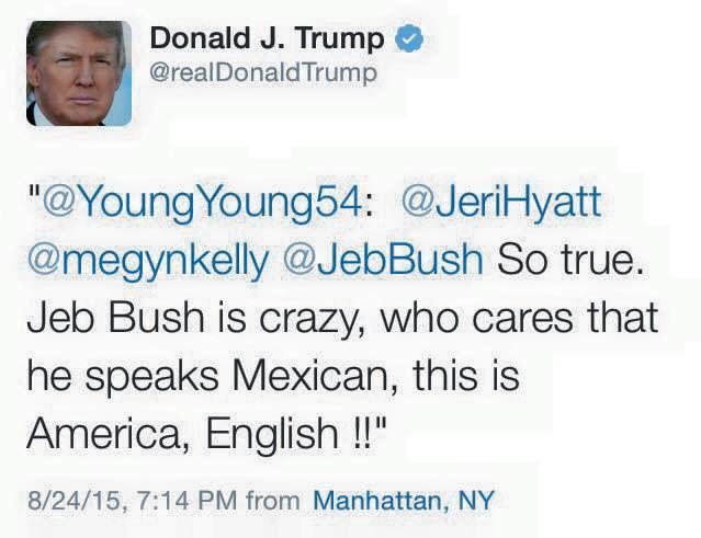 donald trump's tweets