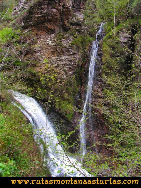 Ruta del Alba: Saltos de agua en el Alba