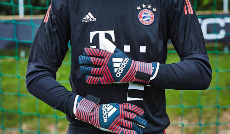 274207dc29e7 Adidas Ace Trans Pro Manuel Neuer 2017-18 Goalkeeper Gloves Released ...