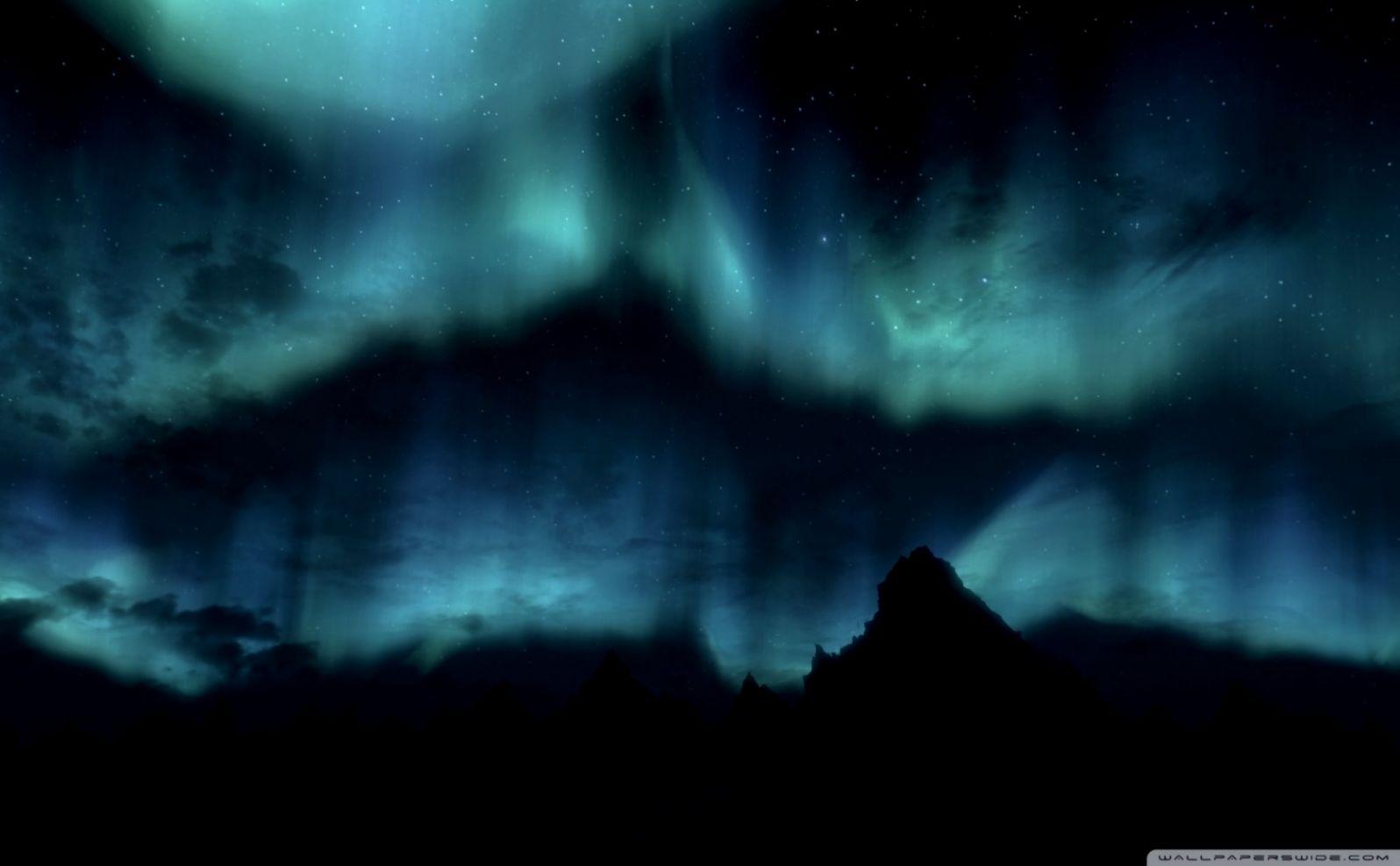 Skyrim Wallpaper Night Hd Wallpapers Arena