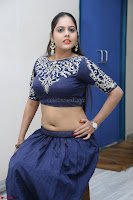Ruchi Pandey in Blue Embrodiery Choli ghagra at Idem Deyyam music launch ~ Celebrities Exclusive Galleries 066.JPG