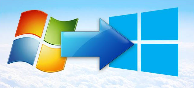 Logo Windows 7 e Windows 10